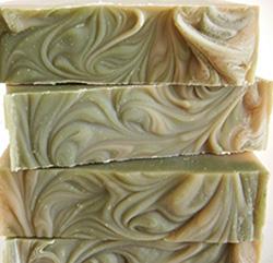 Wild Lichen oakmoss handmade soap