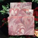 Cranberry orange handmade soap