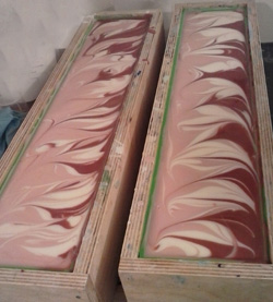 Black Raspberry soap logs